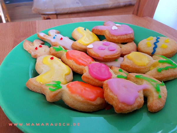 Osterkekse backen mit Kindern