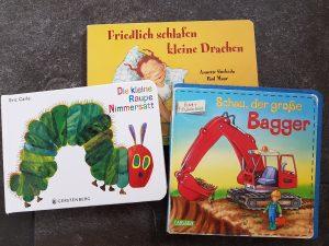 3 Bücher zur Guten Nacht für U3 Kinder