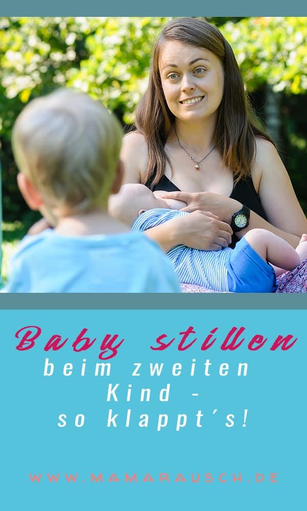"""Baby stillen wenn schon Geschwister da sind? Das Baby stillen ist beim zweiten Kind meist ganz anders und ist für die meisten Mütter leichter als beim ersten Kind. Das ist so, weil sich der Körper der Mutter darin """"erinnert"""" wie es beim ersten Mal war. Das hat zum Beispiel auch Einfluss auf den Milcheinschuss, der häufig früher stattfindet. Aber wie klappt das, wenn schon ein Geschwisterchen da ist? Wie kann man das große Kind während der Stillzeiten beschäftigen?"""