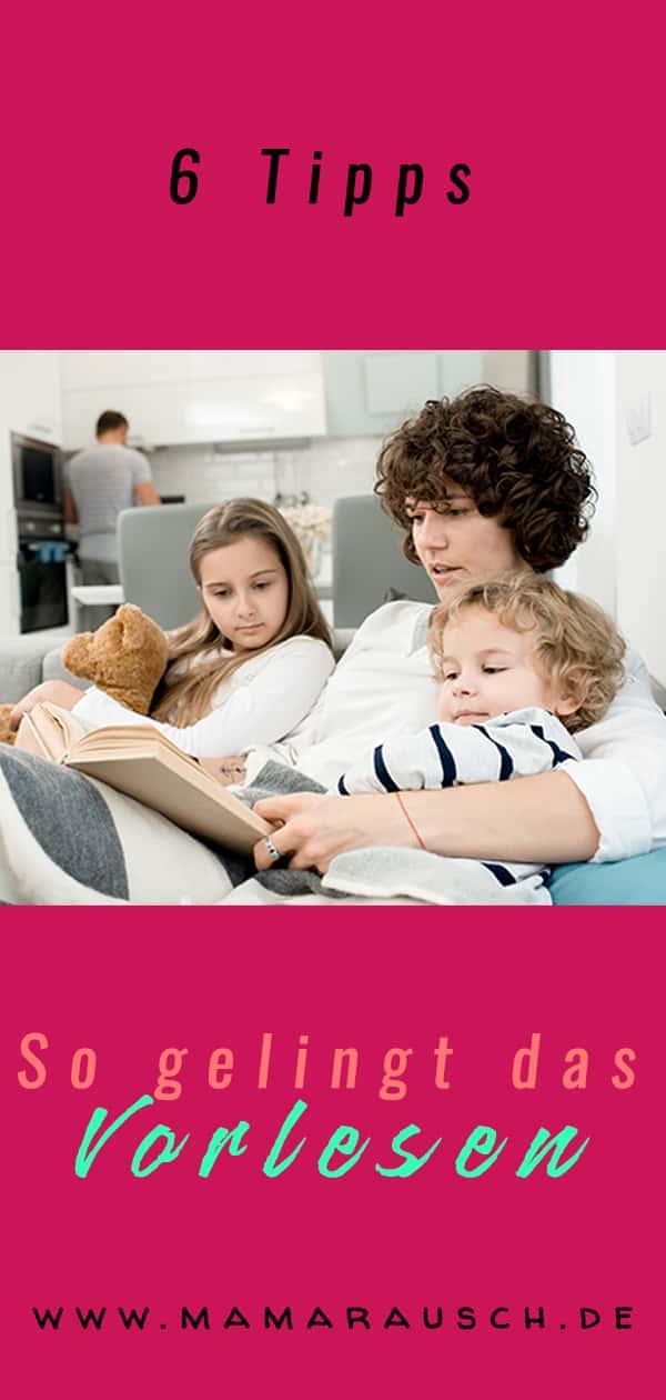 Vorlesen – Warum es wichtig ist & 6 Tipps zum Vorlesen! 12 Gründe warum Vorlesen auch schon für die ganz kleinen wichtig ist und 6 Tipps wie das Vorlesen zu einem Erlebnis wird.