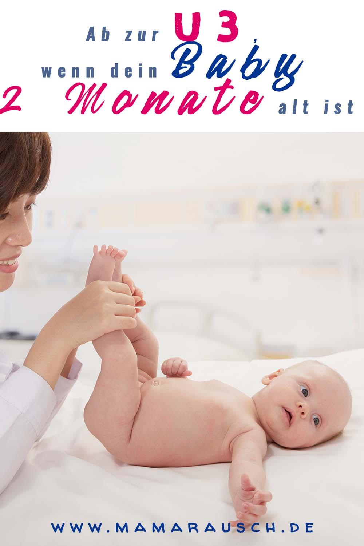 U3 Untersuchung Baby 2 Monate