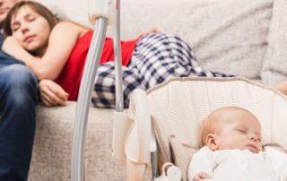Wie kannst du dein Baby beim Einschlafen helfen | baby einschlafen