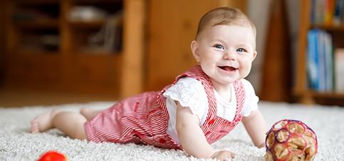Was kann mein Baby mit 6 Monaten? Wie ist die Entwicklung und wie Verläuft die Babyvorsorgeuntersuchung U5? All das jetzt in meinem neuesten Babyupdate!