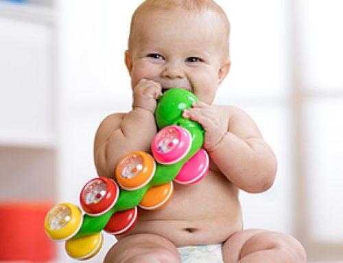 Beschäftigung für ein 6 Monate altes Baby gesucht
