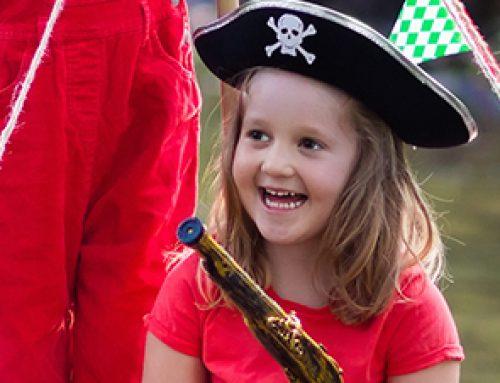 Kindergeburtstag Einladung zur Piratenparty