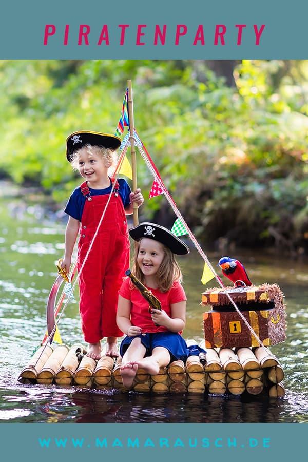 Ein Kindergeburtstag mit dem Motto Piratenparty - was gibt es schöneres für kleine Jungs..Piratenhut basteln oder ein Fernrohr basteln, Einladung zur Piratenparty