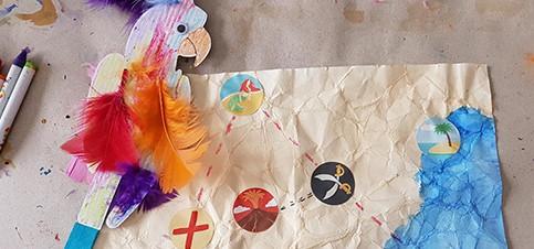 Kreative Bastelideen mit Anleitung für Kinder mit dem Bastelbox Abo für Kinder. So geht basteln mit Kindern schnell und einfach. Bastelbox Abo für Kinder