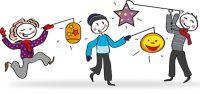 Kinderleichte Laterne basteln aus einem Luftballon und Transparentpapier. Luftballon Laterne basteln mit Kleinkind Vorlage gibt es hier. Basteln mit Kindern