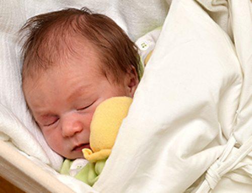 Federwiege zur Beruhigung für Babys