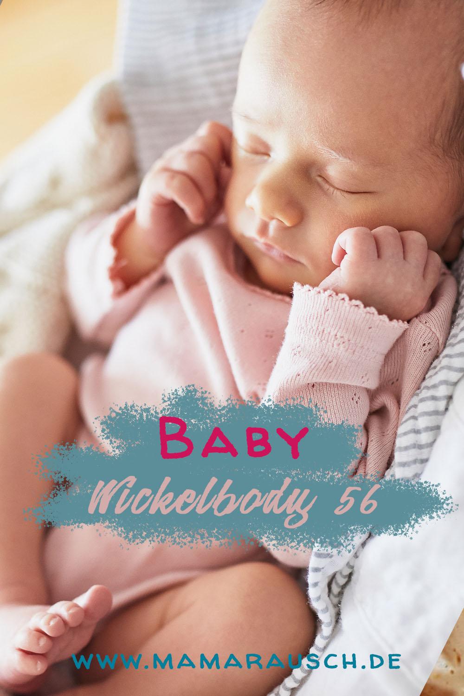 Baby Wickelbody 56 - Welcher Baby Body zur Geburt? Wickelbody oder normaler Body?