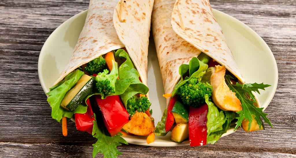 Ernährung in der Schwangerschaft im Job gesundes Mittagessen