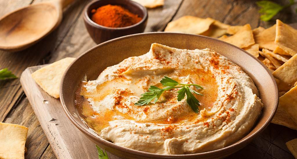 Gesunde Snacks in der Schwangerschaft - Hummus