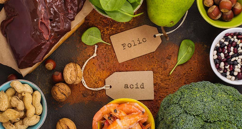 Lebensmittel mit Folsäure ergänzen die klassischen Schwangerschafts-Viatmin-Präperate hervorragend