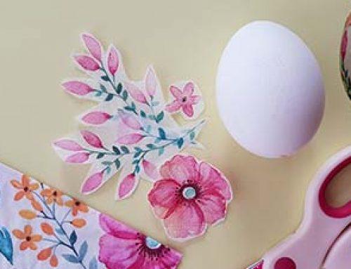 Ostereier dekorieren mit Kindern