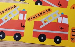 Ideen für Feuerwehrparty Kindergeburtstag und Geschenke zum 4. Geburtstag