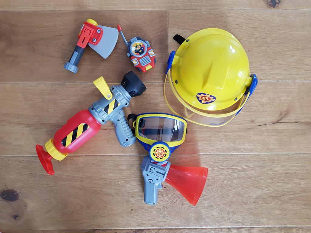 Feuerwehrmann Sam Ausrüstung Geschenke 4 Geburtstag Junge