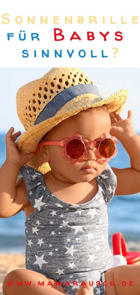 Baby mit Sonnenbrille - Ab wann ist eine Sonnenbrille für Baby sinnvoll? Kindersonnenbrille kaufen.Baby Sonnenbrille ab wann sinnvoll? Sonnenbrille für Baby