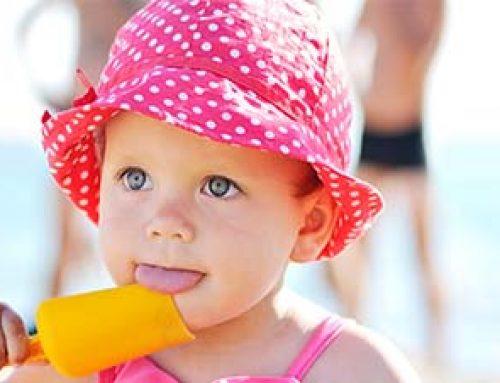 Müssen Babys im Sommer immer eine Mütze tragen? {Sonnenhut Baby}