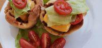 Fingerfood Herzhafte Muffins - Cheesburger