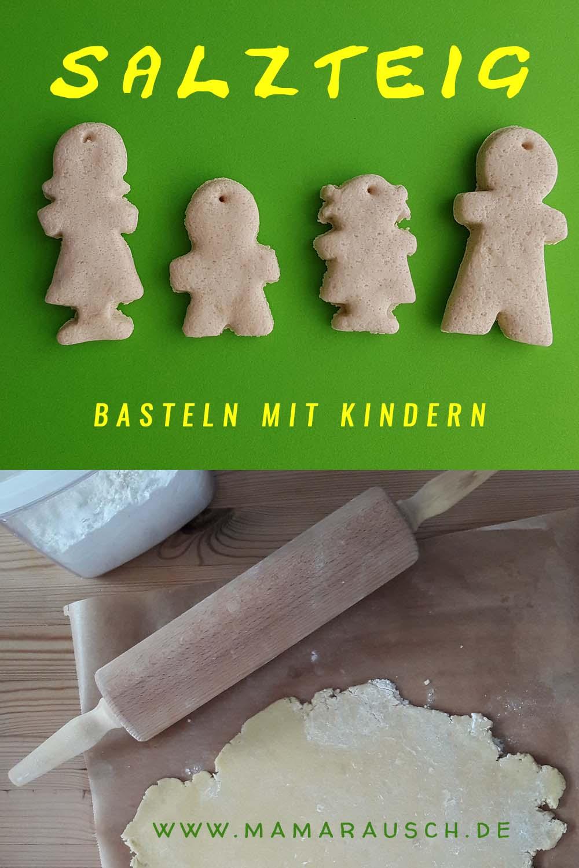 Salzteig selber machen - Salzteig Ideen - Salzteig Familie
