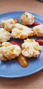 Kartoffelkekse mit Mais - Kartoffel Snack Baby - Beikost - Rezepte für die ganze Familie