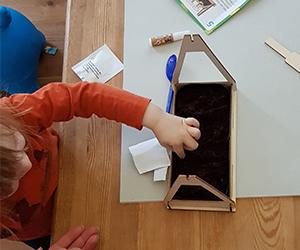 Oster basteln mit Kindern Bastel Abo Box