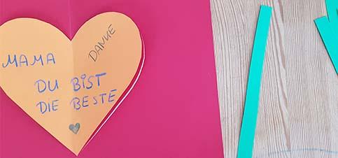 DIY Karten zum Muttertag 2020 basteln