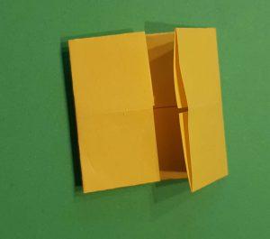 Papier falten mit Kindern - Origami Fische