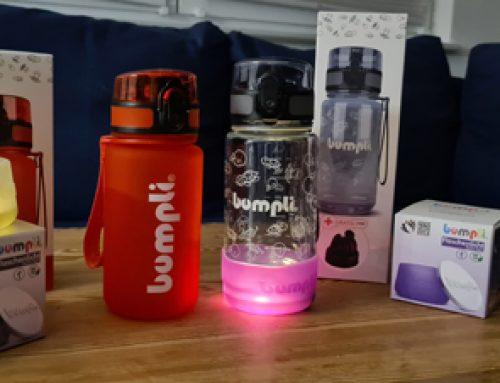 Bumpli Flasche und Nachtlicht in einem