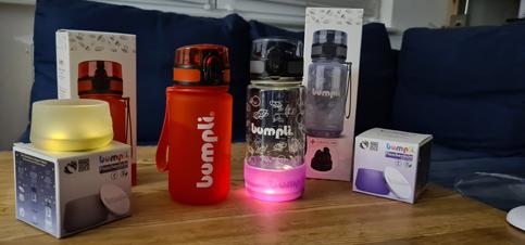 bumpli Nachtlicht für Babyflaschen und Kinderflaschen