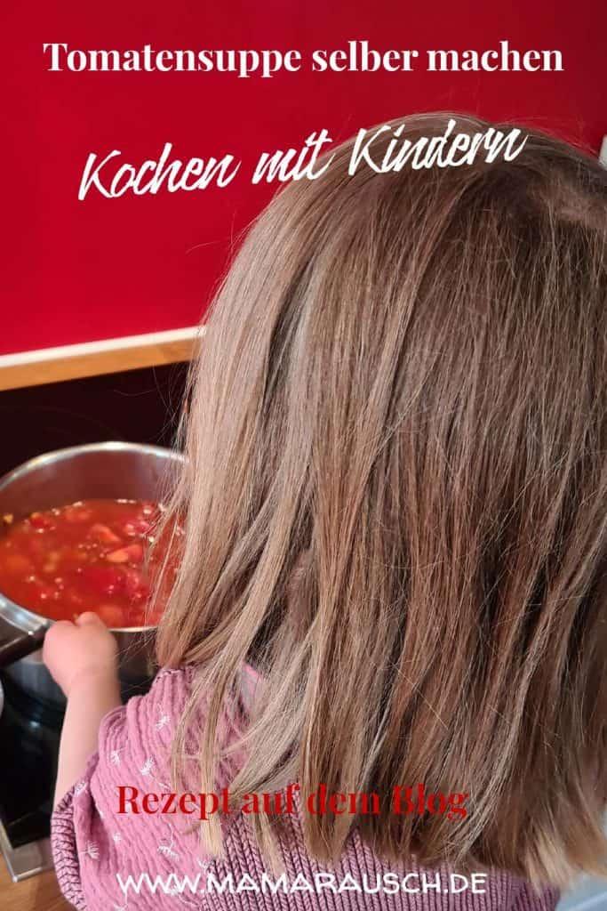 Tomatensuppe selber machen - kochen mit Kindern
