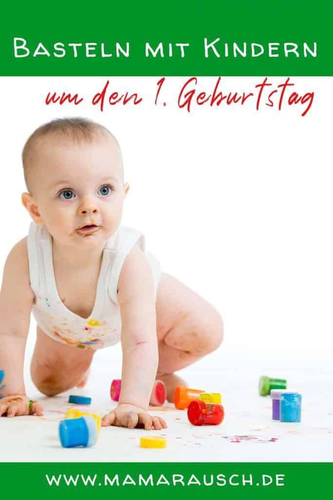 Basteln mit Kindern 1 Jahr alt - Bastelideen