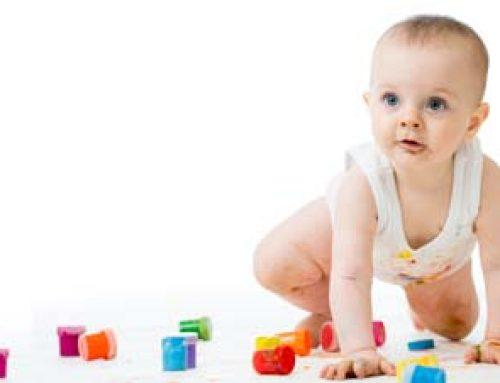 Basteln mit Kindern um den ersten Geburtstag rum