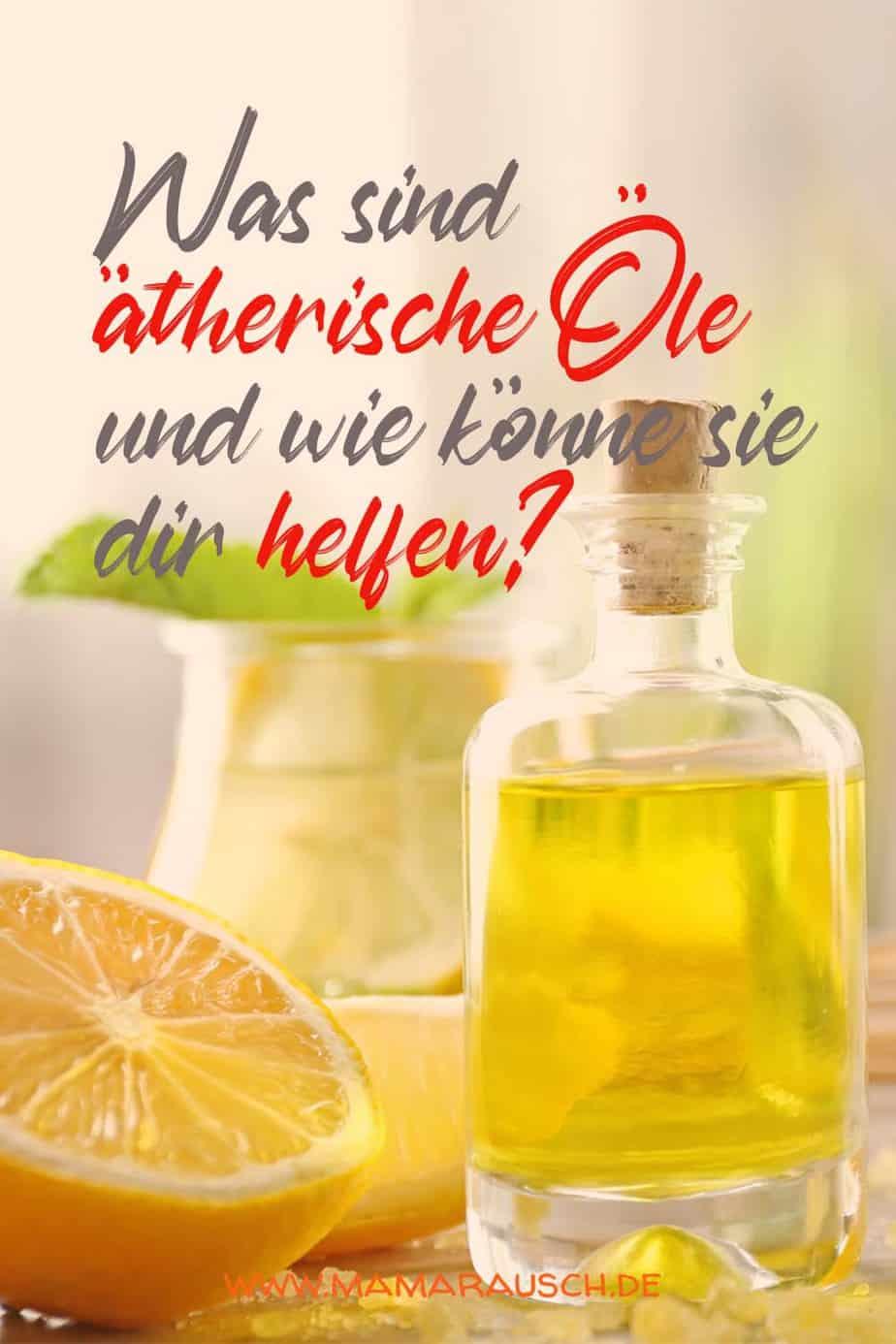 Was sind Ätherische Öle | Wirkung | Diffuser